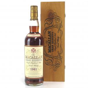 Macallan 1981 Gran Reserva 18 Year Old