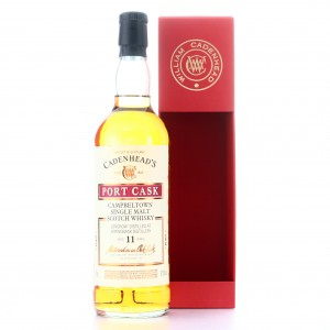 Longrow 2007 Cadenhead's 11 Year Old / Port Cask
