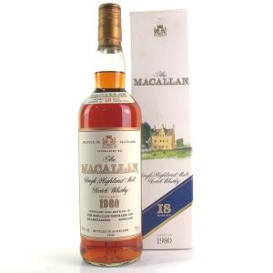 Macallan 18 Year Old 1980