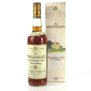 Macallan 12 Year Old 1990s / Gouin Import