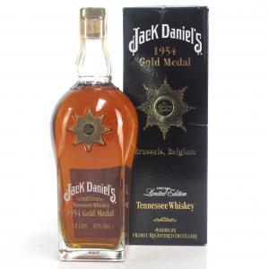 Jack Daniel's Gold Medal 5th Release 1954 Brussels Star of Excellence 1 Litre