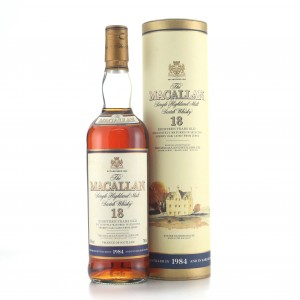 Macallan 1984 18 Year Old