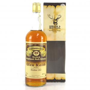 Glen Keith 1963 Gordon and MacPhail 20 Year Old