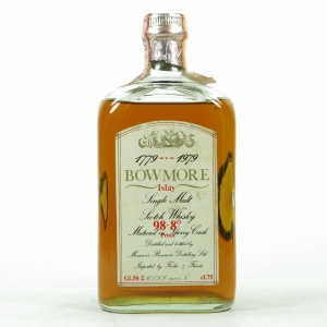Bowmore Bicentenary 1779-1979 / 98.8 Proof