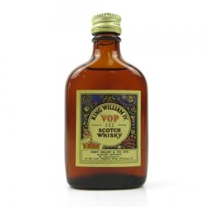 King William IV Scotch Whisky Miniature 1960s