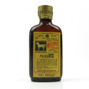 White Horse Bottled 1959 Miniature