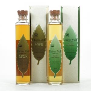 Ichiro's Malt Double Distilleries & Mizunara Wood Reserve 2 x 20cl