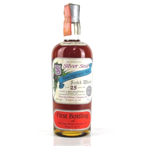 Macallan 1976 Silver Seal 25 Year Old / First Bottling