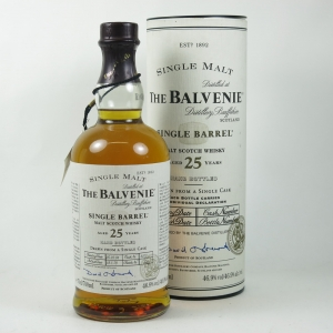 Balvenie 1978 Single Barrel 25 Year Old front