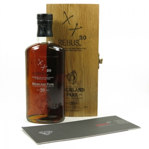 Highland Park 20 Year Old Rebus