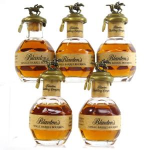 Blanton's Single Barrel Miniatures 5 x 5cl