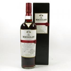 Macallan Easter Elchies 2008