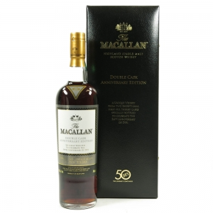 Macallan Double Cask Anniversary Edition / 50th Anniversary of DFS Front