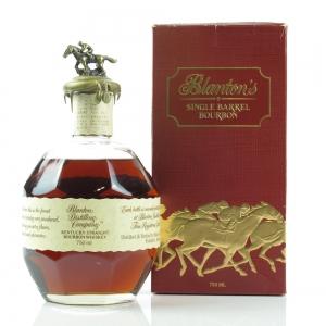Blanton's Single Barrel Bourbon Dumped 1992 / Japanese Import