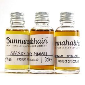 Bunnahabhain Hand Filled Miniature Selection 3 x 3cl