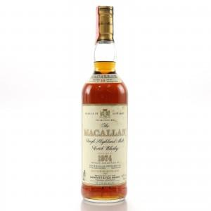Macallan 1974 18 Year Old / Giovinetti Import