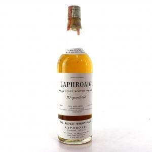 Laphroaig 10 Year Old 1960s / US Carlton Import