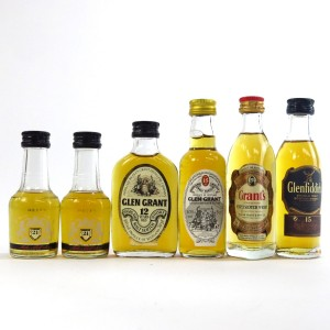 Speyside & Blended Miniature Selection x 6