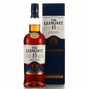Glenlivet 15 Year Old Sherry Cask / Taiwan Exclusive