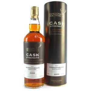 Bunnahabhain 2009 Gordon and MacPhail Cask Strength