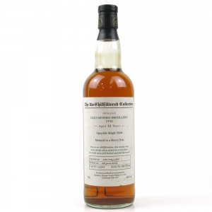 Glenrothes 1990 Signatory Vintage 12 Year Old