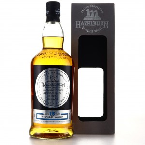 Hazelburn 2002 Single Cask 15 Year Old / Cognac Butt