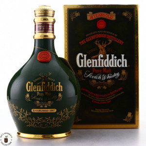 Glenfiddich 18 Year Old Decanter 1980s