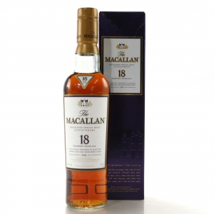 Macallan 1991 18 Year Old 37.5cl / US Import
