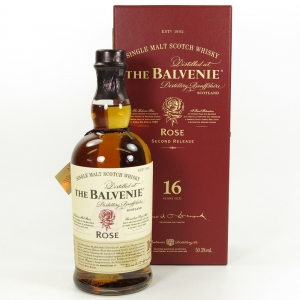 Balvenie Rose 16 Year Old Second Edition