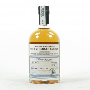 Tormore 1998 Cask Strength 15 Year Old Batch #001