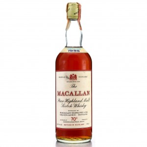 Macallan 1938 Gordon and MacPhail 70 Proof