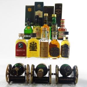 Blend and Cognac Miniature Selection 13 x 5cl