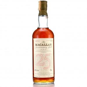 Macallan 1958 Anniversary Malt 25 Year Old