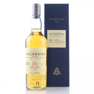 Auchroisk 25 Year Old Cask Strength 2016 Release