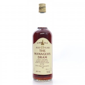 Caol Ila 15 Year Old Manager's Dram 1990