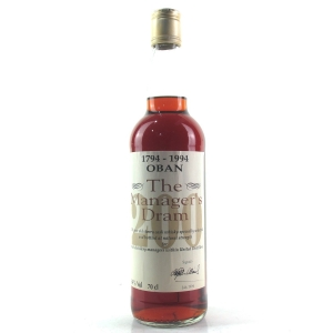 Oban 16 Year Old Manager's Dram Bi-Centenary 1994