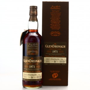 Glendronach 1971 Single Cask 39 Year Old #441 / K6 & Campbelltounloch