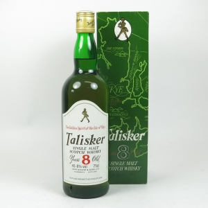 Talisker 8 year old 1980s