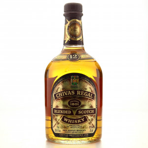 Chivas Regal 12 Year Old 1980s