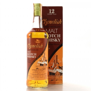Clynelish 12 Year Old Ainslie and Heilbron Cask Strength 1980s / Edward and Edward Import