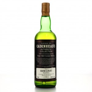 Balvenie 1979 Cadenhead's 12 Year Old / 150th Anniversary