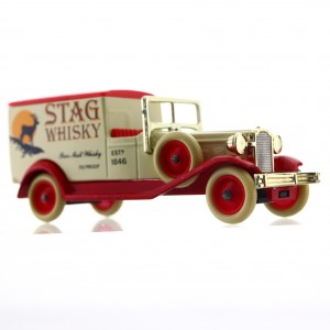 Stag Whisky Days Gone Die-Cast Van