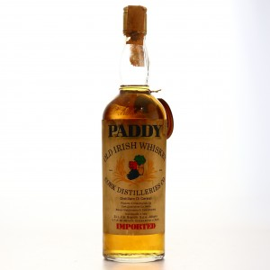 Paddy Old Irish Whiskey 1960s / Bianchi Import