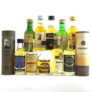 Highland & Speyside Miniature Selection 10 x 5cl