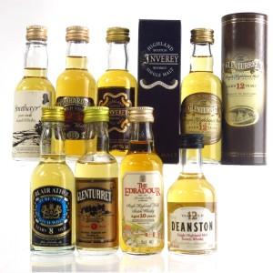 Miscellaneous Whisky Miniatures x 8