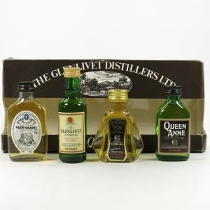Glenlivet Distillers Ltd Gift Set 4 x 5cl