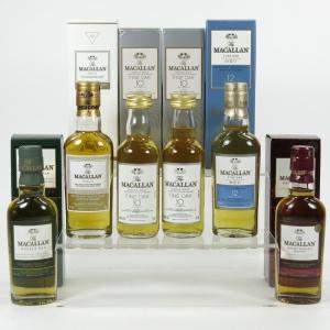 Macallan Miniature collection 6 x 5cl