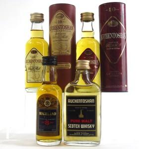 Highland & Lowland Miniature Selection x 4