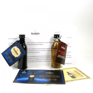 Glenfiddich Age of Discovery Bourbon and Glenfiddich Malt Masters Miniature 2 x 5cl