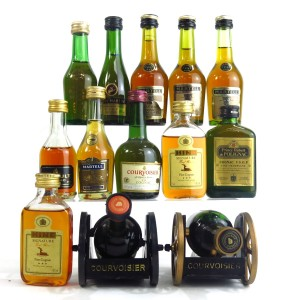 Cognac Miniatures Selection x 13